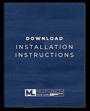 multi-length rigid core installation instructions